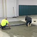 Floor Being Leveled